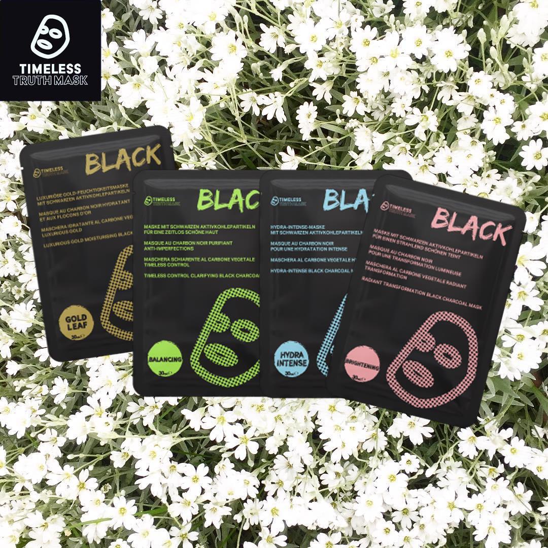 Timeless Truth Mask Black Charcoal: Thêm một loại mặt nạ Đài Loan xịn sò cho chị em chăm da láng mịn chơi hè - Ảnh 3.
