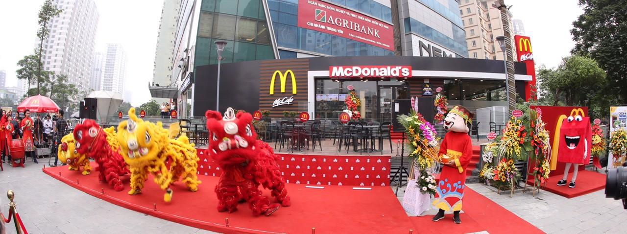 McDonald's khai trương nhà hàng thứ 2 tại Hà Nội - Ảnh 2.