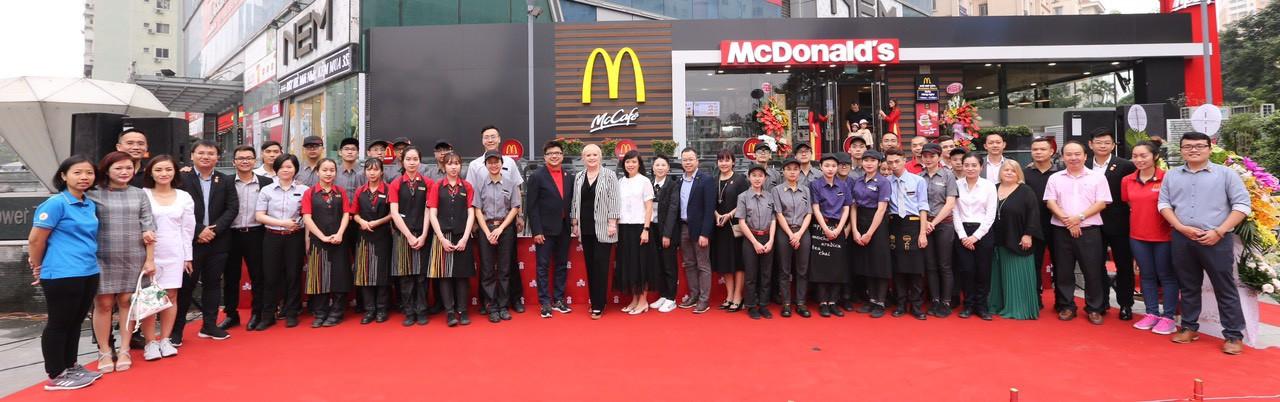 McDonald's khai trương nhà hàng thứ 2 tại Hà Nội - Ảnh 3.
