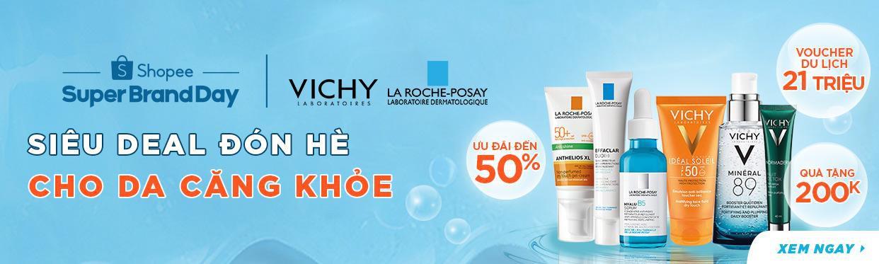 Đánh bay mụn không trượt phát nào với cơn lốc sale sốc từ La Roche-Posay & Vichy, duy nhất hôm nay! - Ảnh 1.