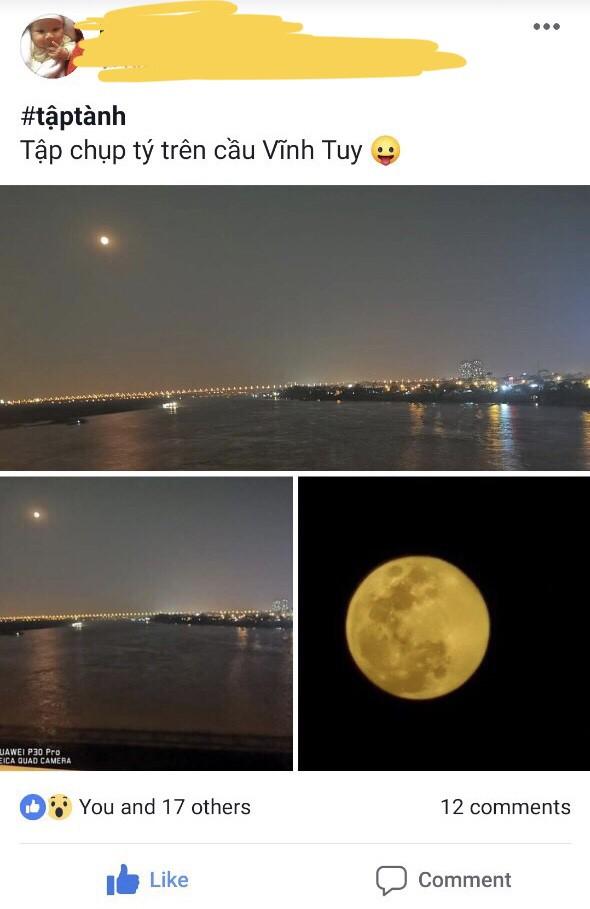Thử thách chụp ảnh Mặt Trăng bằng điện thoại gây bão cộng đồng mạng - Ảnh 3.