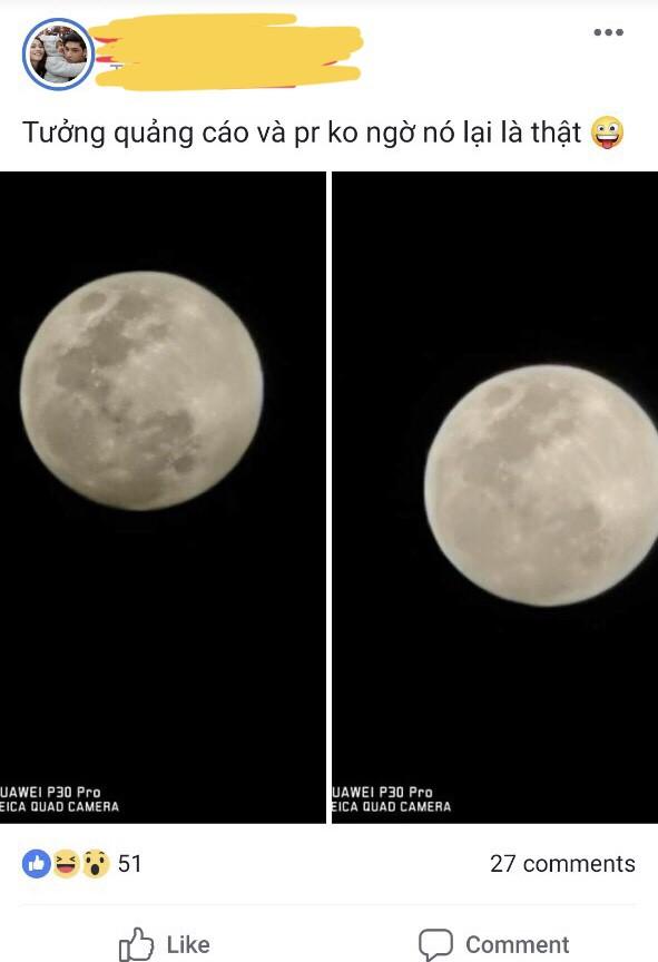 Thử thách chụp ảnh Mặt Trăng bằng điện thoại gây bão cộng đồng mạng - Ảnh 2.