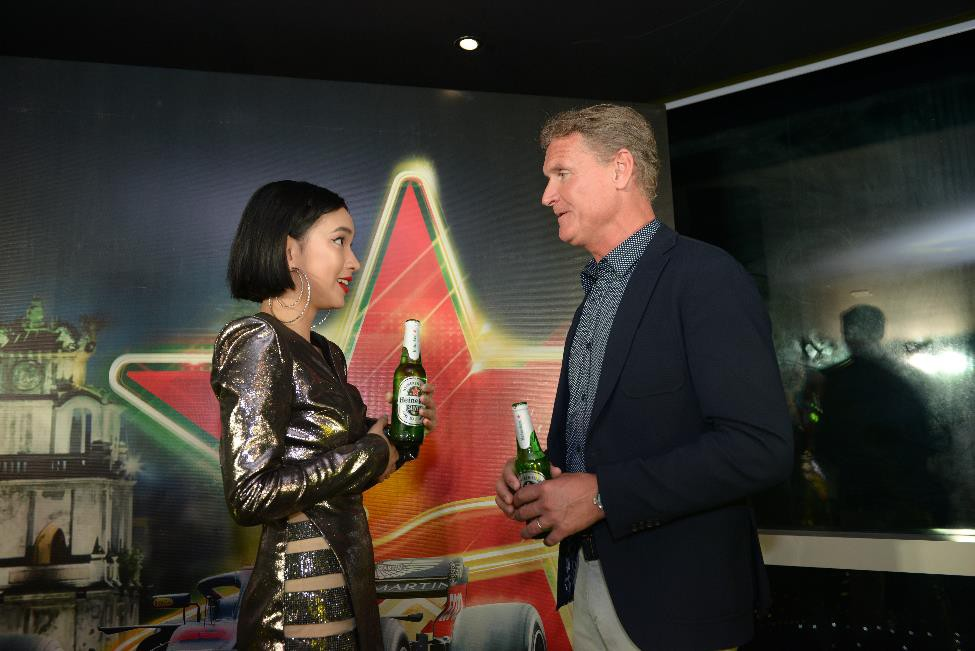 Trước giờ G, huyền thoại F1 David Coulthard gửi lời chào fan Việt, sẵn sàng cho màn trình diễn mãn nhãn tại SVĐ Mỹ Đình - Ảnh 4.