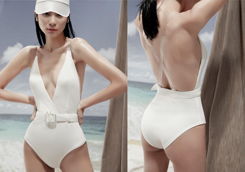 Vào hè chất ngất như Kim Dung với đồ bơi từ thương hiệu NG 3.5 - Ảnh 3.