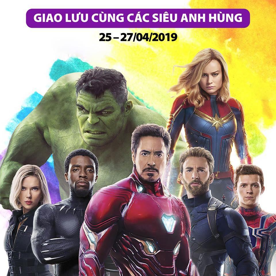 Những siêu anh hùng The Avenger: Endgame sắp đổ bộ đến Thung lũng Tình yêu! - Ảnh 2.