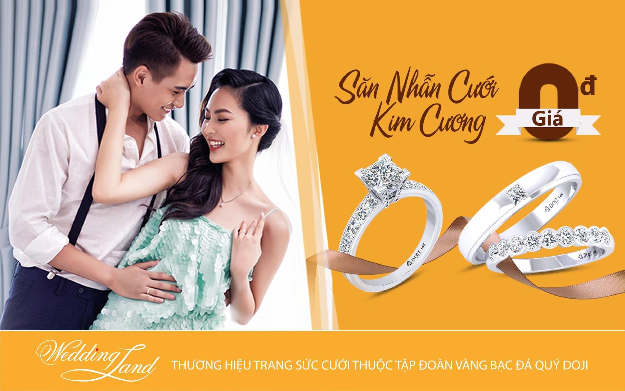 Tin hot cho mọi cặp đôi: Cơ hội sở hữu nhẫn cưới kim cương giá 0 đồng - Ảnh 1.
