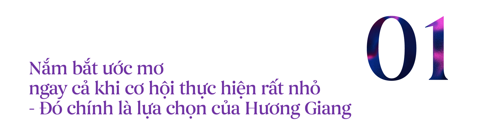 """Hoa hậu Hương Giang: """"Tôi tự hào với những điều bất công trong cuộc sống"""" - Ảnh 1."""
