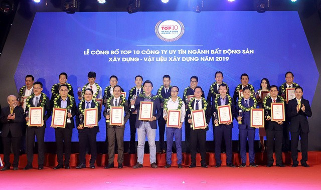 Tăng trưởng 43%, Nam Long nhận giải Top 50 DN tăng trưởng xuất sắc 2019 - Ảnh 1.