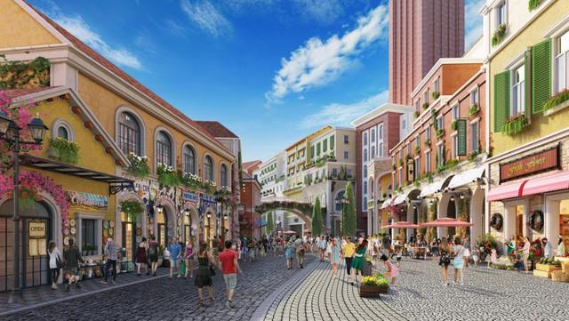 Ra mắt tổ hợp tiện ích Center Village - Địa Trung Hải Phú Quốc - Ảnh 1.