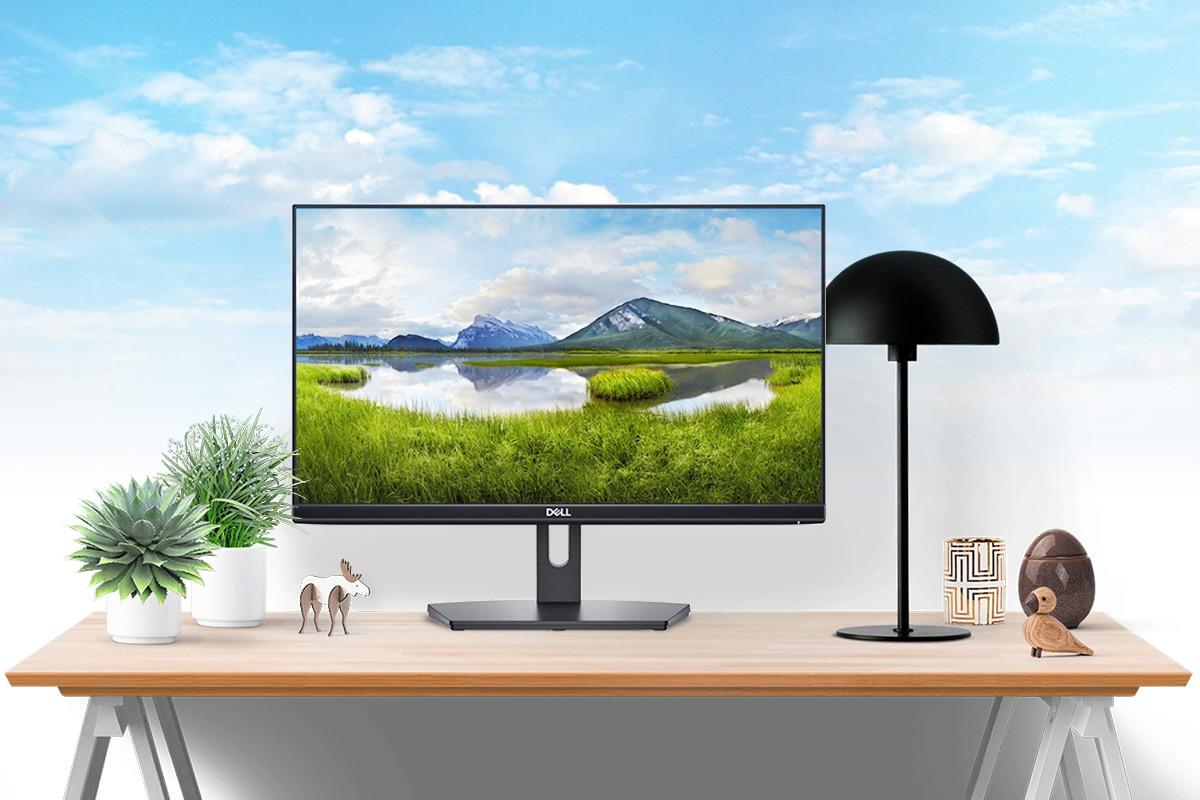 Dell SE2219HX - Màn hình viền siêu mỏng giá rẻ, đột phá lớn của Dell trong phân khúc phổ thông - Ảnh 2.
