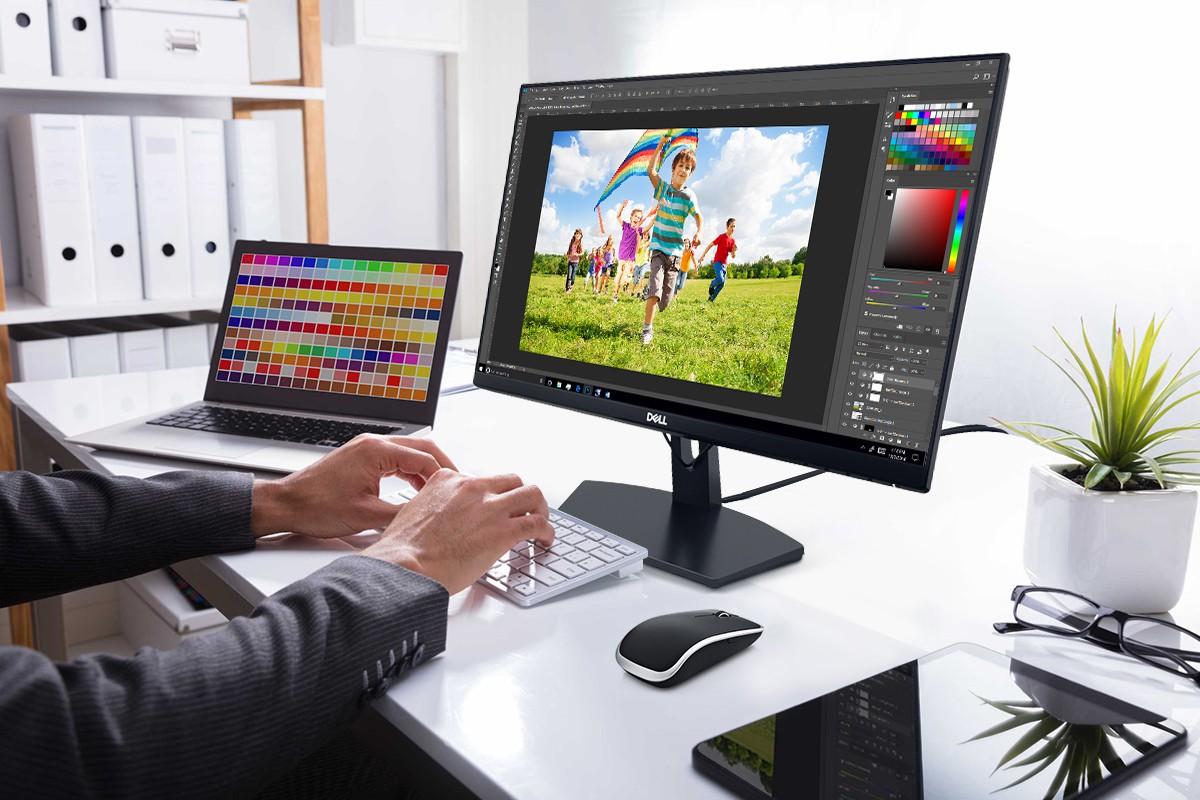 Dell SE2219HX - Màn hình viền siêu mỏng giá rẻ, đột phá lớn của Dell trong phân khúc phổ thông - Ảnh 3.