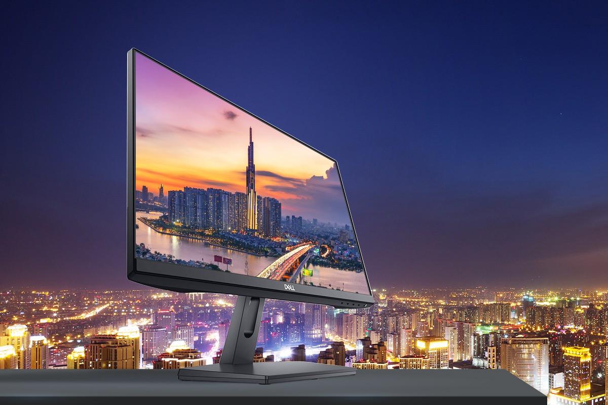 Dell SE2219HX - Màn hình viền siêu mỏng giá rẻ, đột phá lớn của Dell trong phân khúc phổ thông - Ảnh 4.