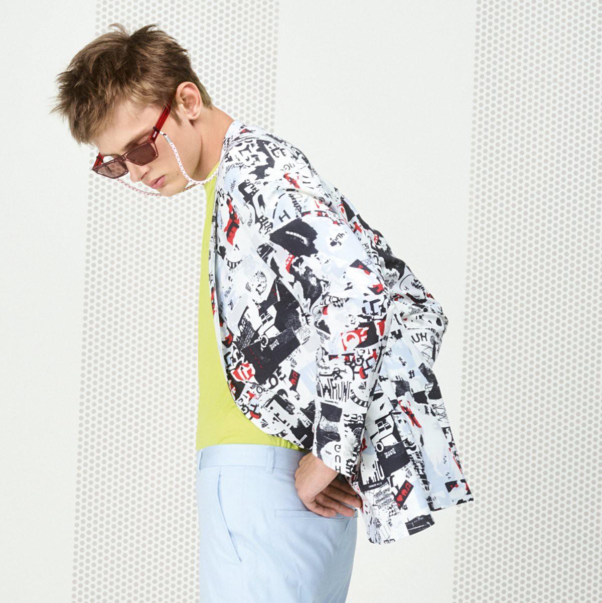 """HUGO hè 2019: mặc họa tiết như một """"raver"""" - Ảnh 9."""