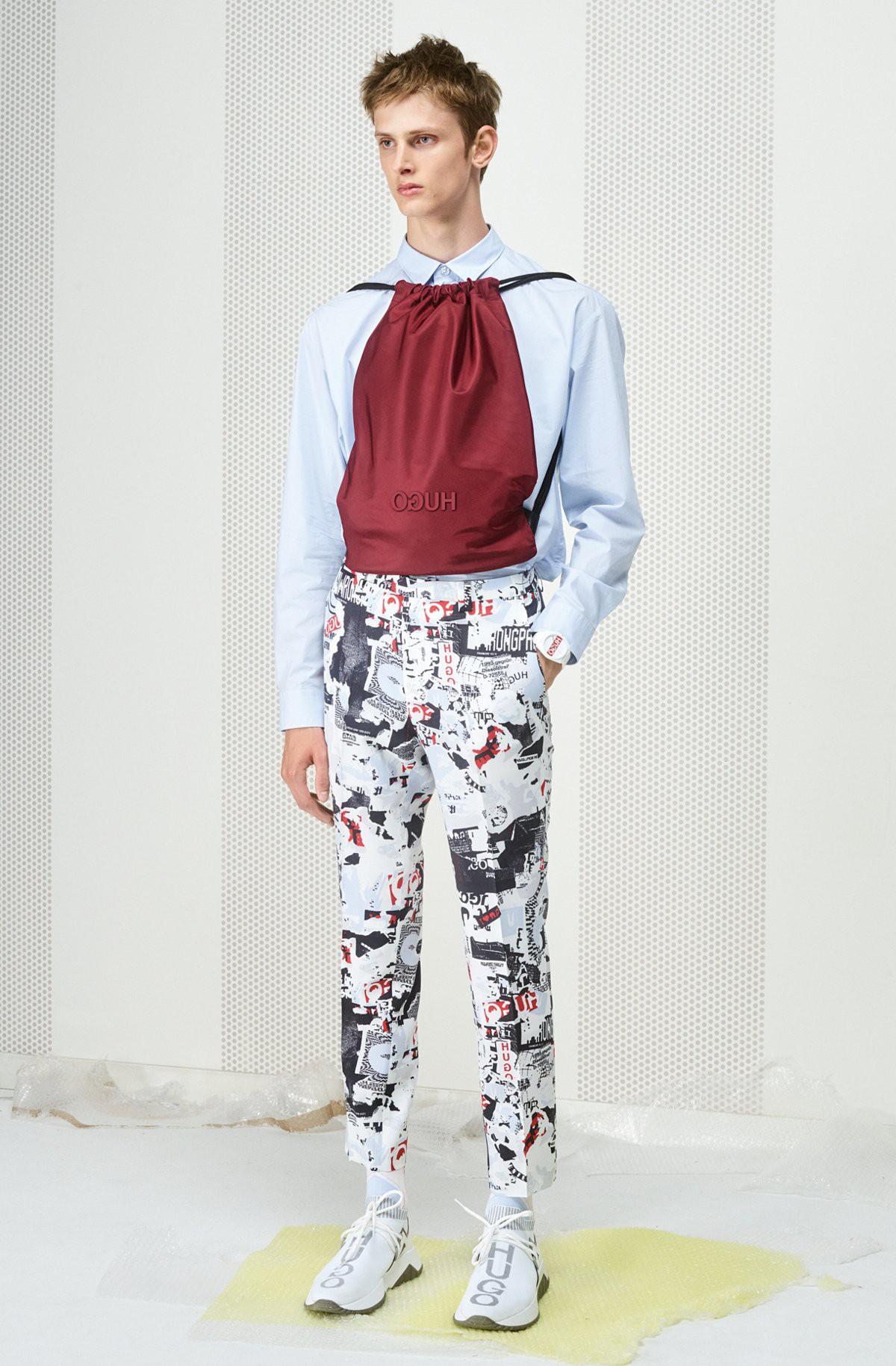 """HUGO hè 2019: mặc họa tiết như một """"raver"""" - Ảnh 8."""
