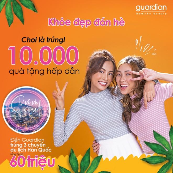 Khỏe đẹp đón hè cùng Guardian với cơ hội vi vu Hàn Quốc và trúng ngay 10.000 quà tặng - Ảnh 1.