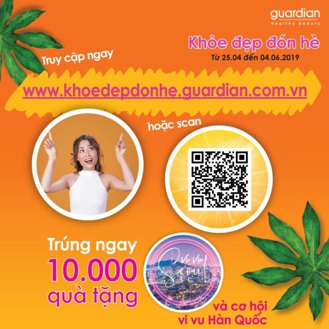 Khỏe đẹp đón hè cùng Guardian với cơ hội vi vu Hàn Quốc và trúng ngay 10.000 quà tặng - Ảnh 2.