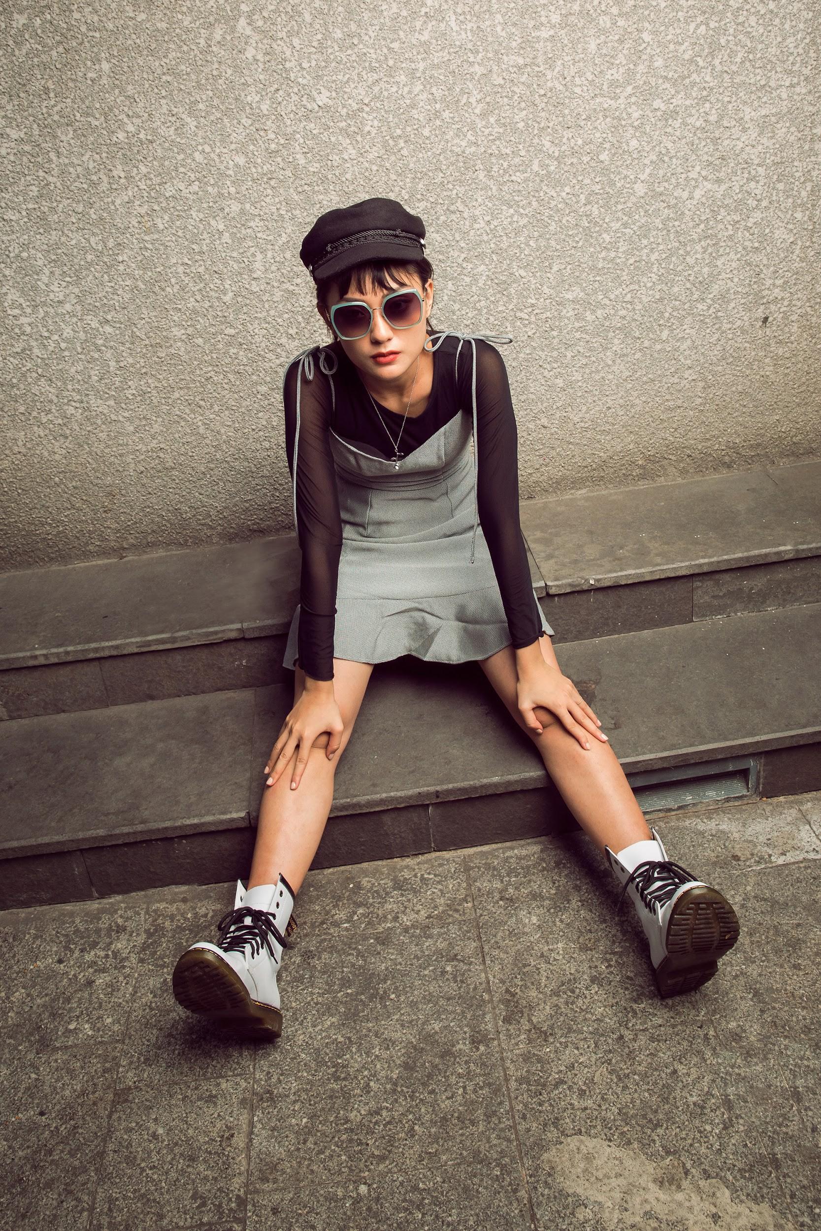 Thu Anh - Duy Linh cùng tôn vinh phong cách thời trang giới trẻ với Molsion Eyewear - Ảnh 9.