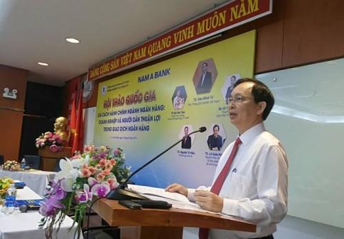 Nam A Bank đồng hành cùng hội thảo quốc gia cải cách hành chính ngành ngân hàng - Ảnh 1.