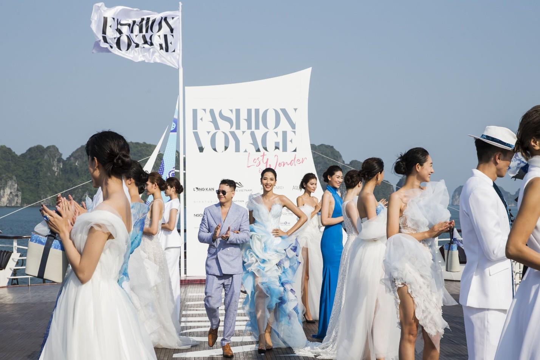 Trên sàn catwalk du thuyền 5 sao, BST từ cảm hứng thời trang thuần khiết lên ngôi trong sự choáng ngợp, mãn nhãn - Ảnh 10.