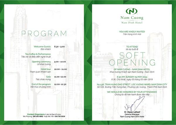 Tập đoàn Nam Cường khai trương khách sạn đạt chuẩn quốc tế 4 sao tại Nam Định - Ảnh 1.