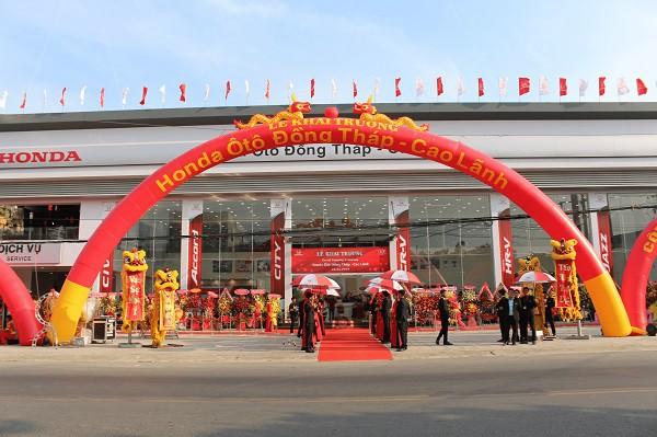 Honda Việt Nam khai trương Đại lý Honda Ôtô đạt chuẩn 5S tại Đồng Tháp - Ảnh 1.