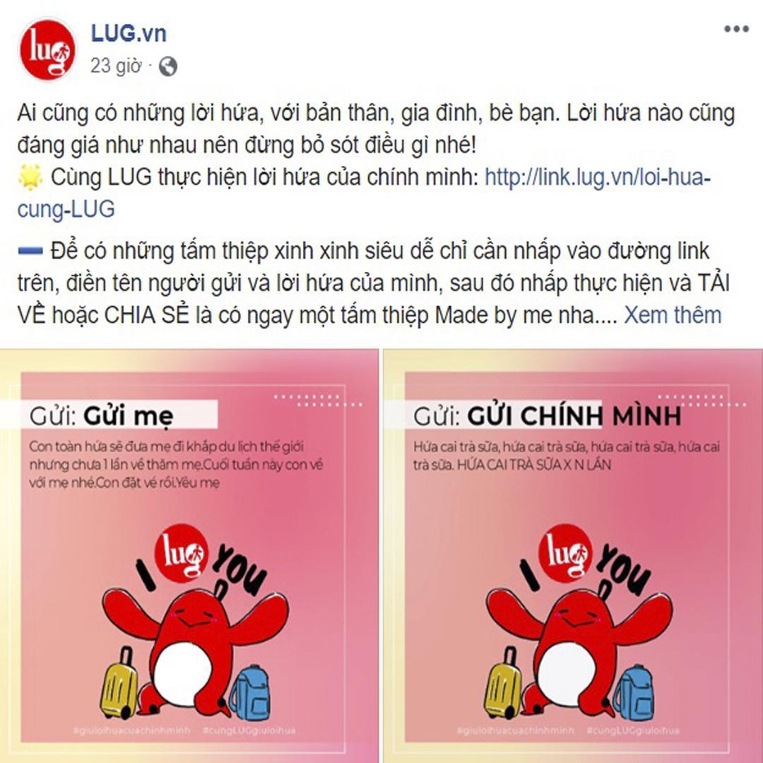 """LUG tung chiến dịch tái định vị """"rung rinh"""" cộng đồng mạng - Ảnh 5."""