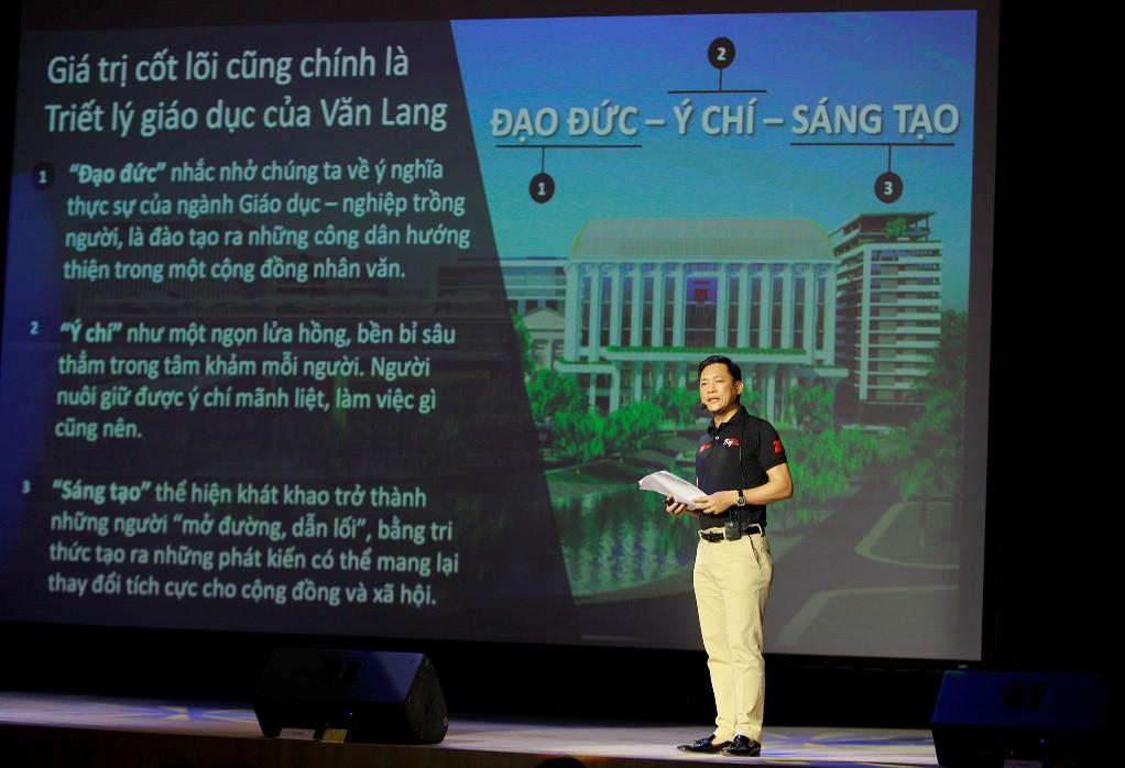 Diễn đàn VanLang Presidential Forum 2019: Giáo sư Trương Nguyện Thành truyền cảm hứng cho sinh viên - Ảnh 4.