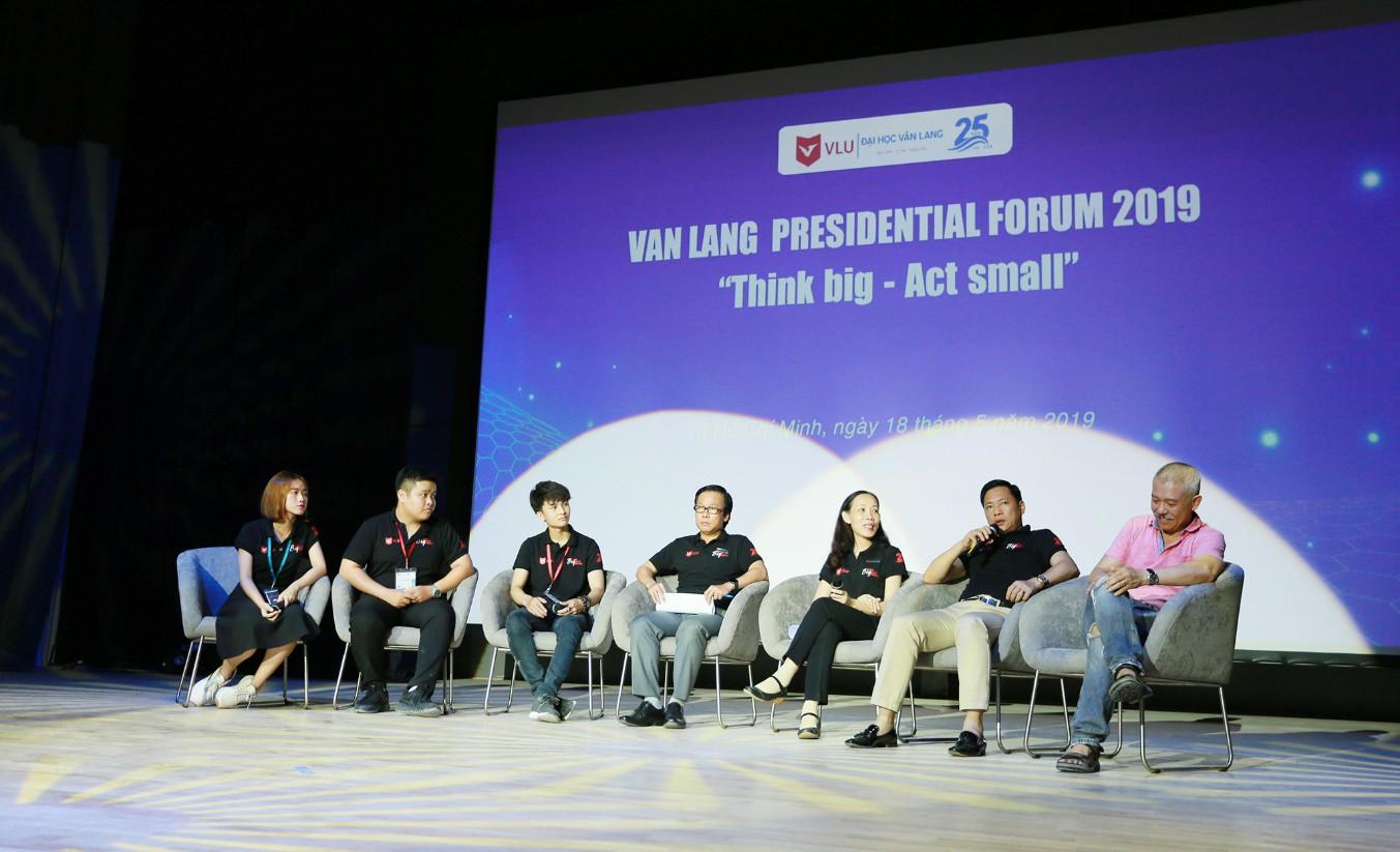 Diễn đàn VanLang Presidential Forum 2019: Giáo sư Trương Nguyện Thành truyền cảm hứng cho sinh viên - Ảnh 5.
