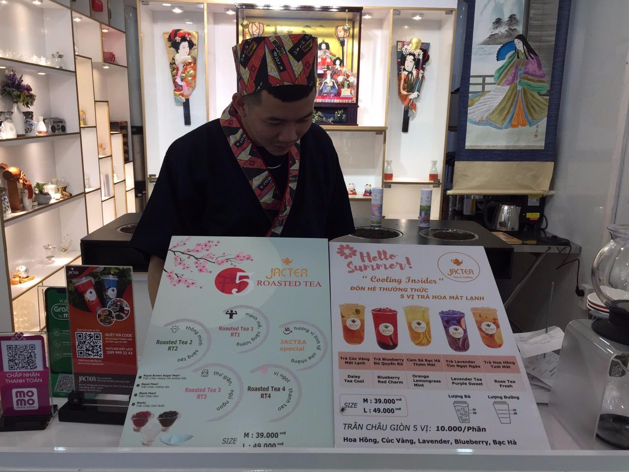 Lạ mắt với trà sữa nướng phong cách Nhật Bản - Ảnh 1.