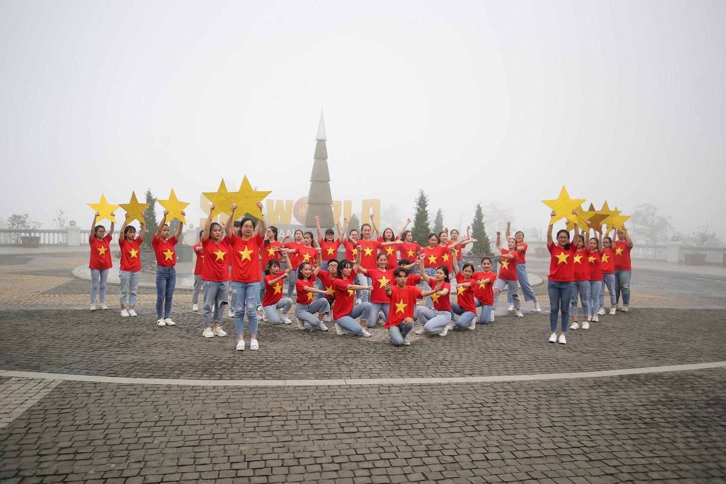"""""""Mục sở thị nơi tranh tài đẹp như tranh vẽ của Top 16 Flashmob - Sóng tuổi trẻ - Ảnh 1."""