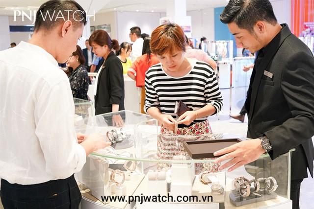 PNJ WATCH - Khai trương cửa hàng thứ 18 tại gò vấp với nhiều ưu đãi hấp dẫn - Ảnh 6.