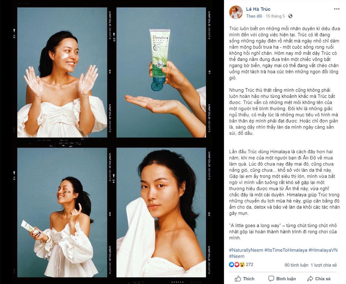 Sữa rửa mặt lá Neem Himalaya Herbals có công dụng gì mà khiến Misoa, Sĩ Thanh, Lê Hà Trúc phải xuýt xoa? - Ảnh 2.