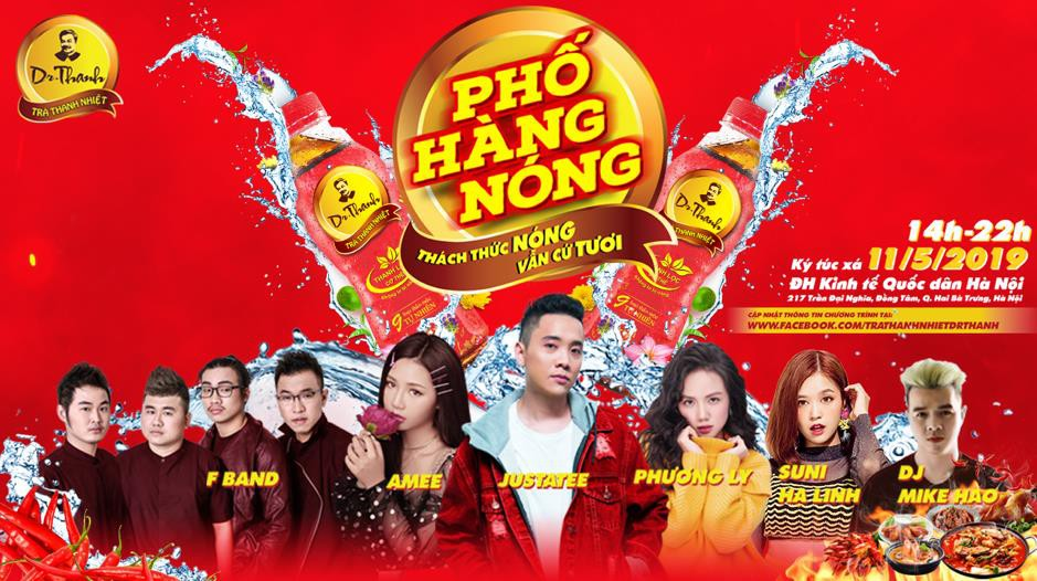 JustaTee, Phương Ly, Suni Hạ Linh, AMEE hội tụ tại lễ hội ẩm thực - âm nhạc - Ảnh 7.