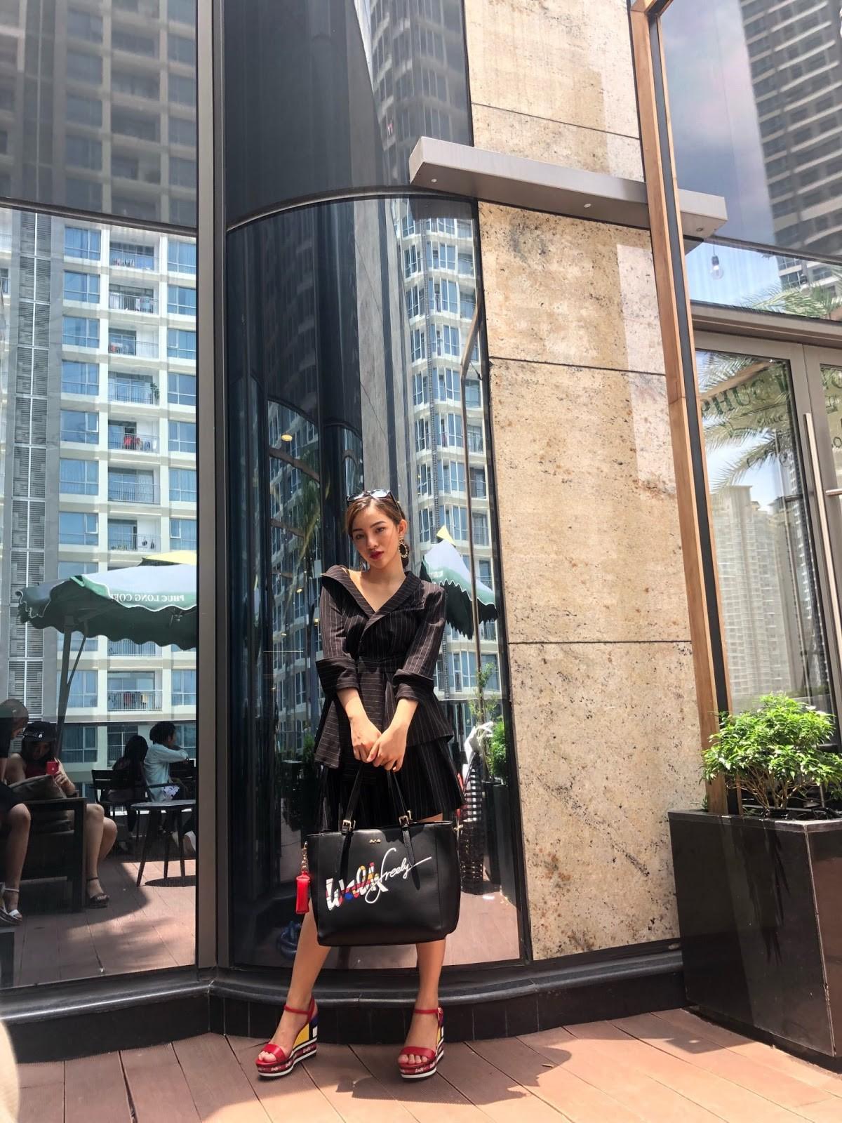Làn sóng mới của street style tuần qua: Họa tiết Mondrian tưởng khó diện nhưng lại xuất hiện khắp phố - Ảnh 8.