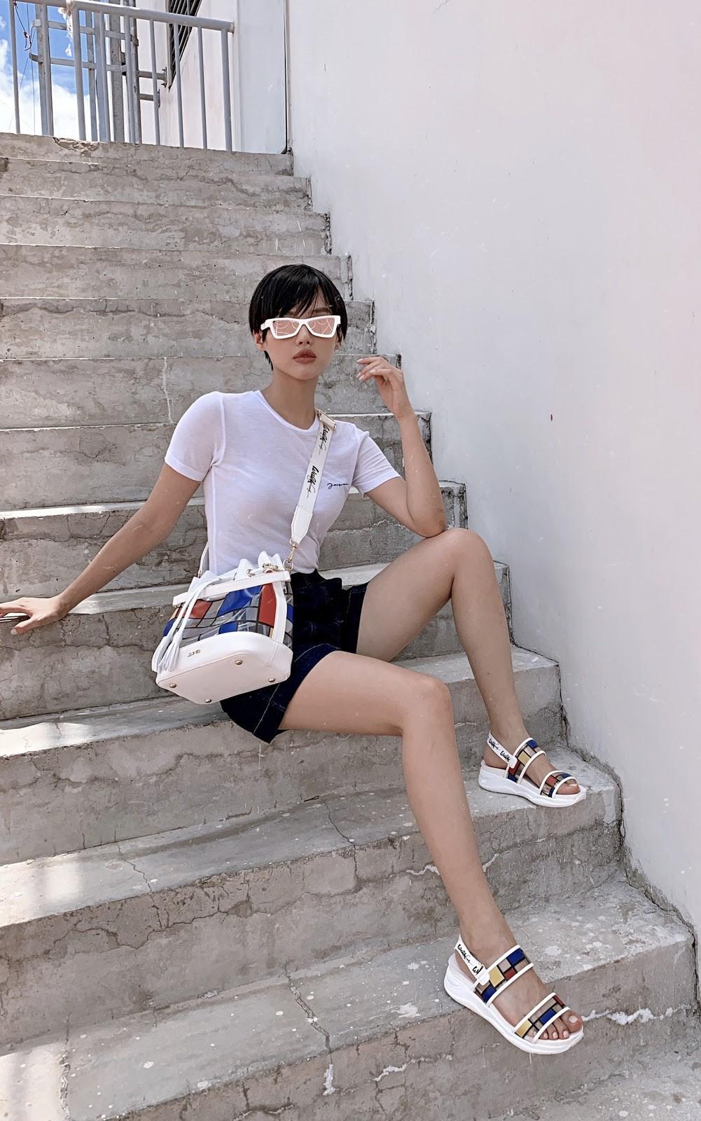 Làn sóng mới của street style tuần qua: Họa tiết Mondrian tưởng khó diện nhưng lại xuất hiện khắp phố - Ảnh 4.