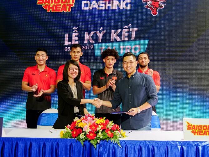 Dashing Buffalo và Saigon Heat công bố nhà tài trợ mới chuẩn bị cho một mùa giải siêu kịch tính - Ảnh 2.