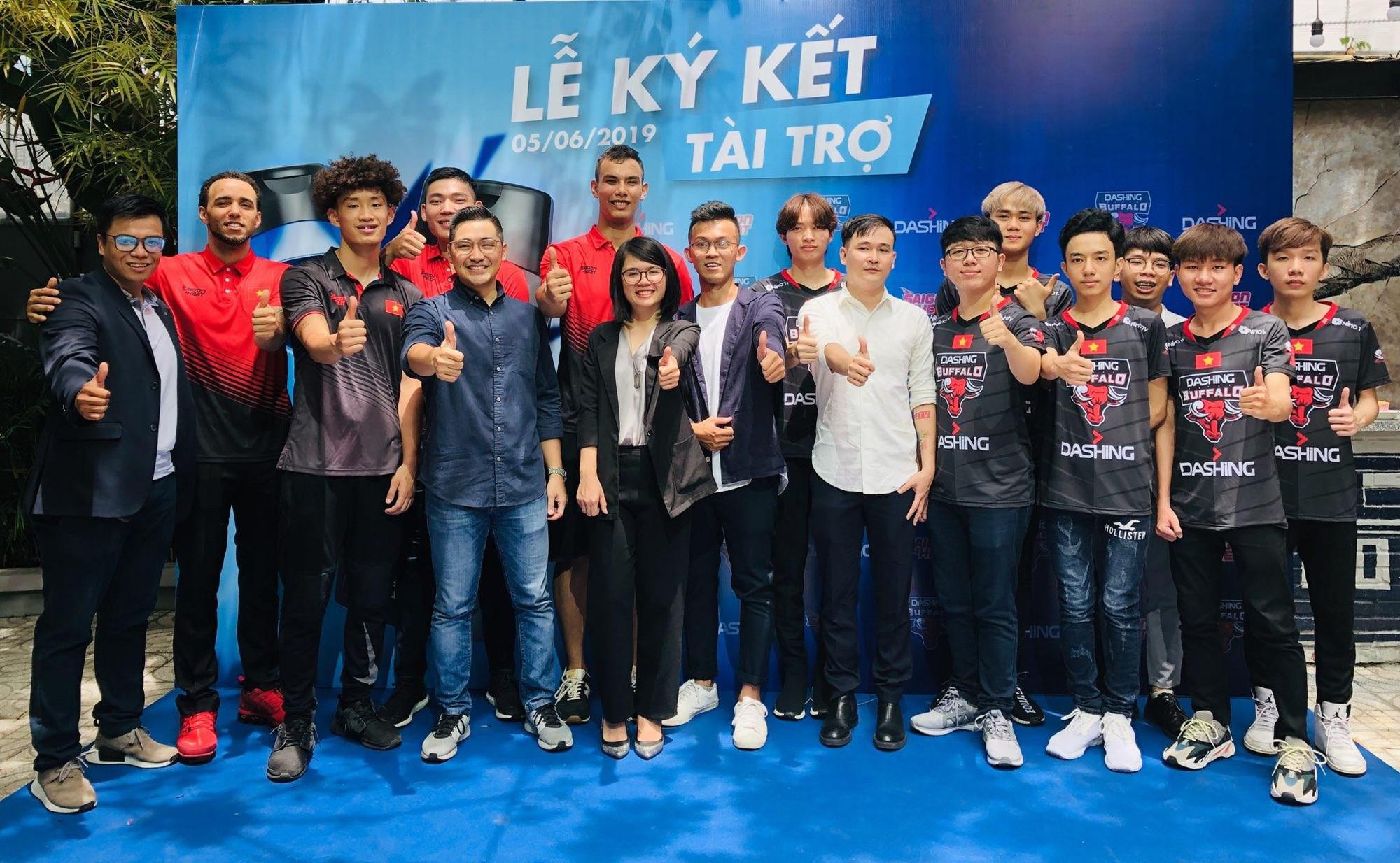 Dashing Buffalo và Saigon Heat công bố nhà tài trợ mới chuẩn bị cho một mùa giải siêu kịch tính - Ảnh 3.