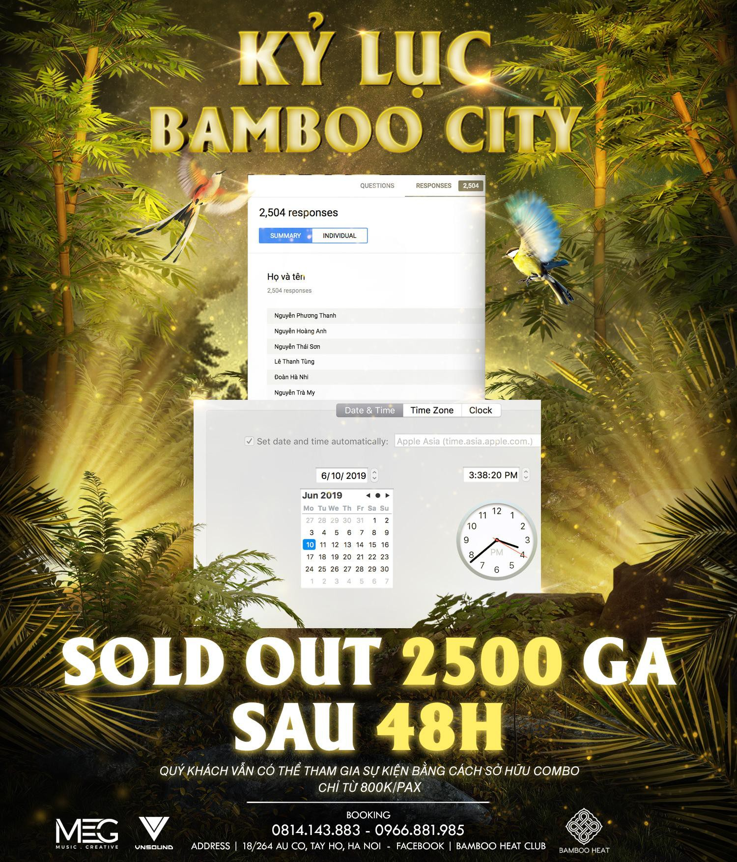 """Còn gì nóng bằng Bamboo City: Sold out 2.500 vé free sau 48h, giới trẻ xôn xao tìm cách """"thâm nhập""""? - Ảnh 1."""