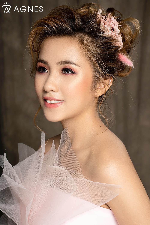 Mãn nhãn với 5 phong cách makeup cô dâu cùng Agnes Academy - Ảnh 3.