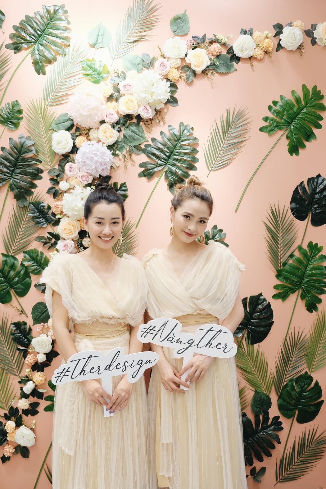 MC Quỳnh Chi ra mắt thương hiệu thời trang Ther Design - Ảnh 4.
