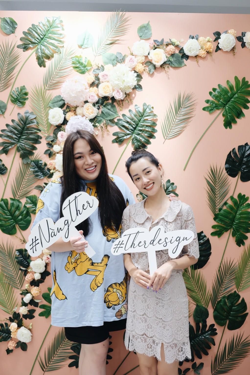 MC Quỳnh Chi ra mắt thương hiệu thời trang Ther Design - Ảnh 6.
