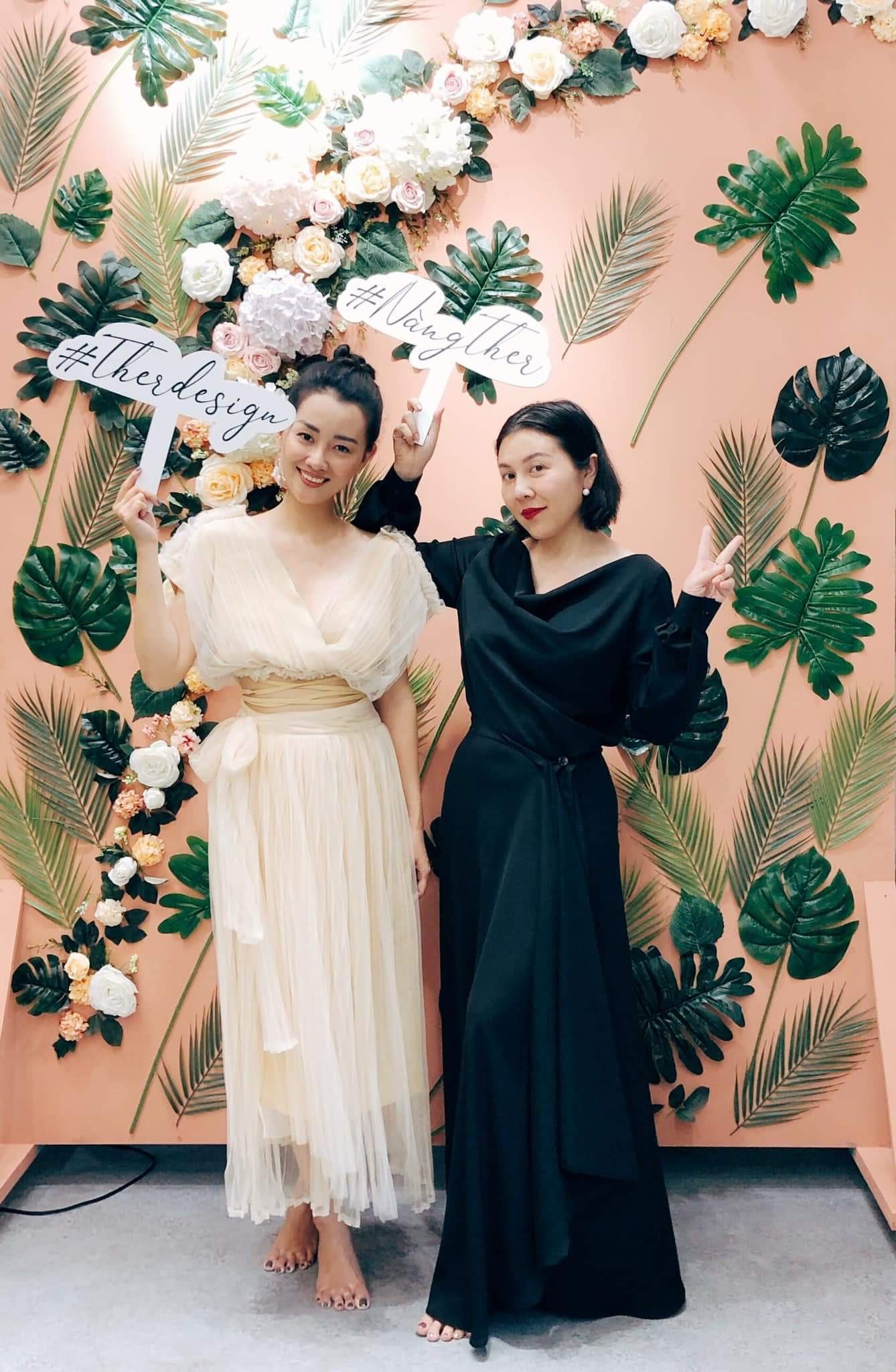 MC Quỳnh Chi ra mắt thương hiệu thời trang Ther Design - Ảnh 8.