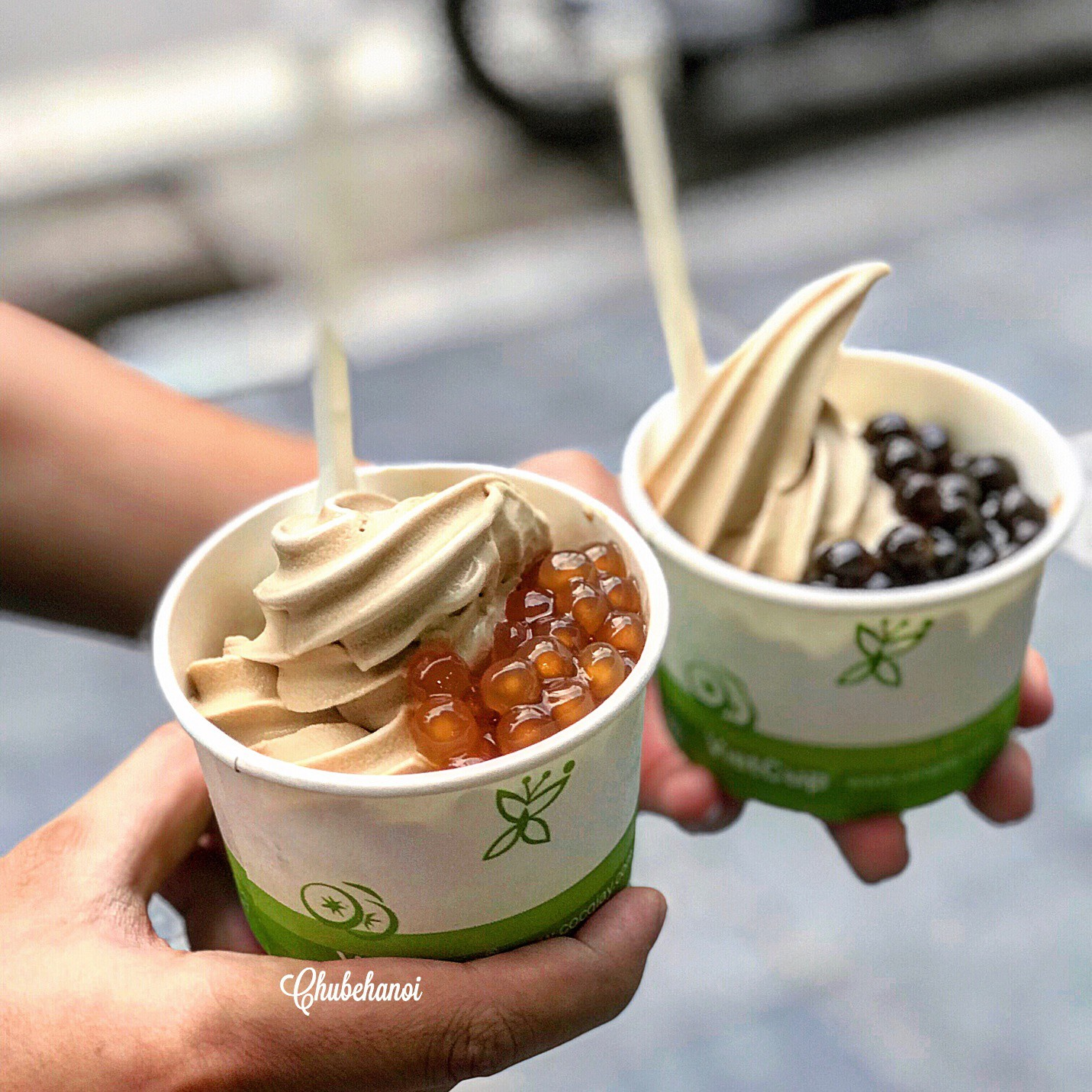 """""""Chill"""" cùng kem trà nướng Yi He Kao Nai - Ảnh 4."""