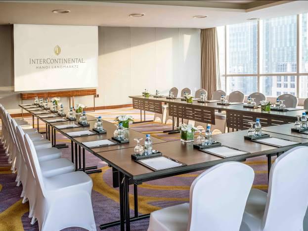 Bộ mặt mới của du lịch MICE tại Hà Nội với sự ra mắt đầy ấn tượng của khách sạn cao nhất Thủ Đô - Ảnh 1.