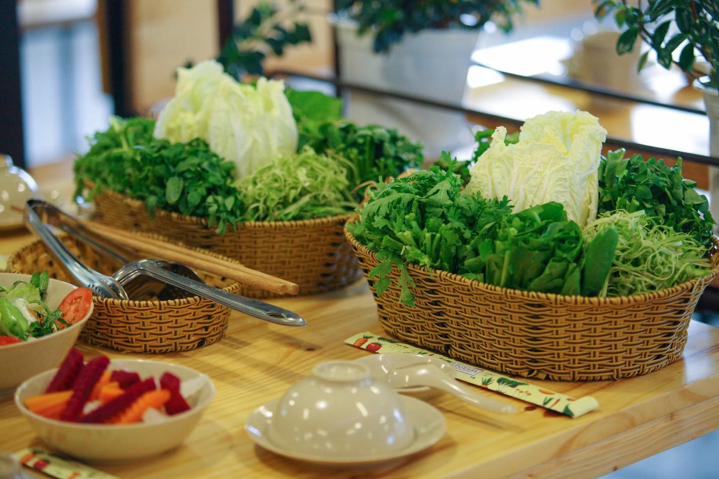 Ăn rau thả ga tại buffet rau Léguda Nha Trang - Ảnh 5.