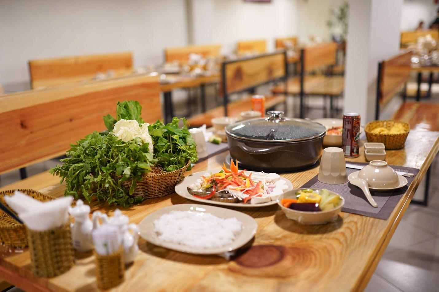 Ăn rau thả ga tại buffet rau Léguda Nha Trang - Ảnh 6.