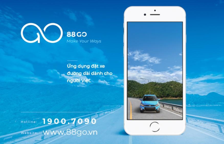 Quà tặng dành cho hè 2019: Code ưu đãi khi thuê đặt xe trên ứng dụng 88GO - Ảnh 1.