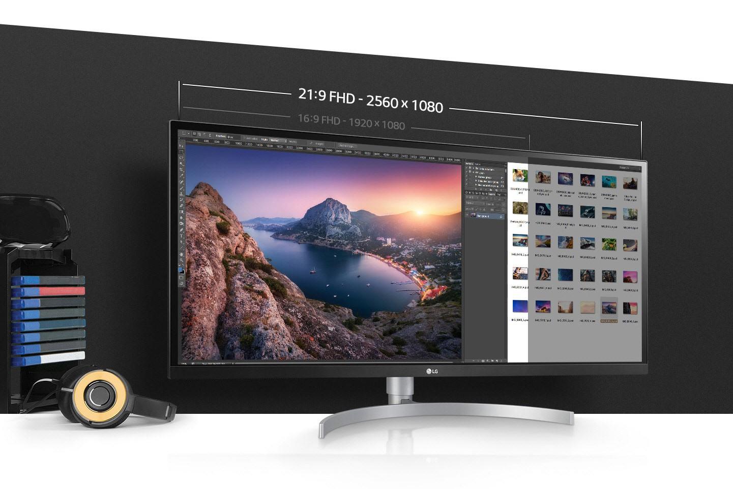 Màn hình LG 21:9 chuẩn màu: Xu hướng không thể cưỡng lại của người dùng đồ họa, giải trí và làm việc đa nhiệm - Ảnh 1.