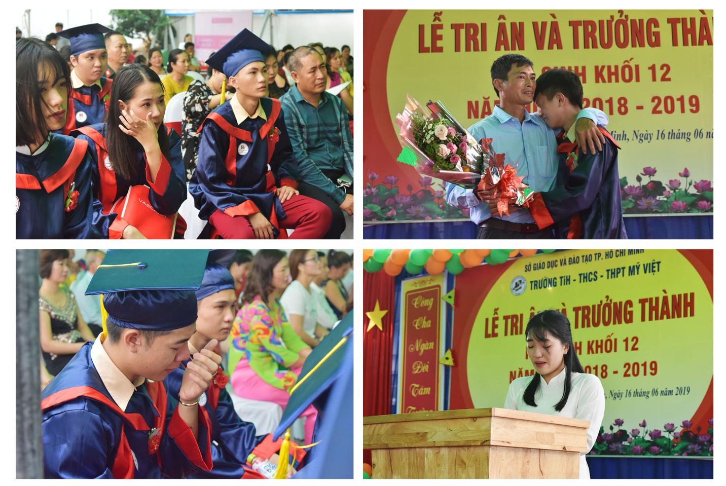 Nước mắt xen lẫn niềm vui trong lễ tri ân và trưởng thành của teen Mỹ Việt - Ảnh 5.