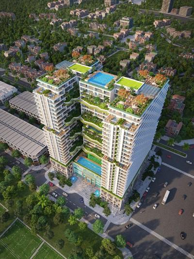 Condotel 5 sao tiên phong tại Phú Yên với bản sắc kiến trúc Tây Nguyên đương đại - Ảnh 1.